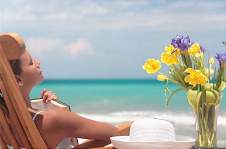 Восстановление кожи после отпуска